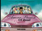 Amour, passion et CX Diesel, bd chez Fluide Glacial de Fabcaro, James, BenGrrr