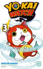 Yo-kai watch  T3, manga chez Kazé manga de Level-5, Konishi