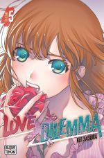 Love x dilemma T5, manga chez Delcourt de Sasuga