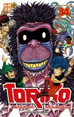 Toriko T34, manga chez Kazé manga de Shimabukuro