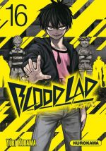 Blood lad T16, manga chez Kurokawa de Kodama