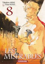 Les Misérables T8, manga chez Kurokawa de Arai, Hugo