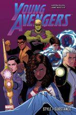 Young Avengers : Style > Substance (0), comics chez Panini Comics de Gillen, Vieceli, Cloonan, Anka, McKelvie, Doyle, Norton, Quiñones, Brown, Ward, Wu, Wicks, Wilson, Bellaire, Loughridge, Thompson