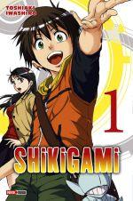 Shikigami T1, manga chez Panini Comics de Iwashiro