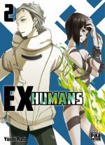 Ex-humans T2, manga chez Pika de Katô