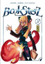 Booksterz  T2, manga chez Kana de Dos Santos, Guérin
