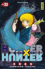 Hunter x Hunter T33, manga chez Kana de Togashi