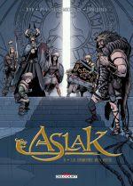 Aslak T5 : La Demeure des occis (0), bd chez Delcourt de Hub, Weytens, Michalak, Lamirand
