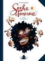 Sacha et Tomcrouz T1 : Les vikings (0), bd chez Soleil de Halard, Quignon