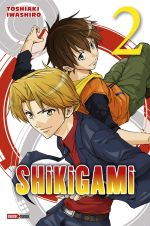 Shikigami T2, manga chez Panini Comics de Iwashiro