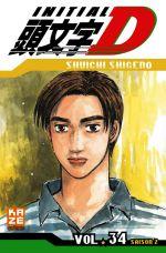 Initial D T34, manga chez Kazé manga de Shigeno