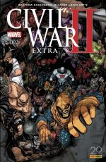 Civil War II Extra  T2, comics chez Panini Comics de Rosenberg, Talajic, Sherman, Marzan jr, Ortiz, Lopes, Fabela, Mrva, Kuder