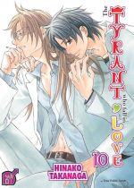The tyrant who fall in love T10, manga chez Taïfu comics de Takanaga