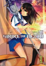Strike the blood  T7, manga chez Kana de Mikumo, Manyako, Tate