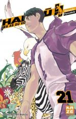 Haikyû, les as du volley T21, manga chez Kazé manga de Furudate