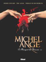 Michel-Ange T1 : Le Banquet des damnés (0), bd chez Glénat de Convard, Adam, de Rochebrune, Delf