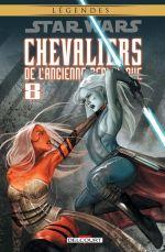Star Wars - Chevaliers de l'ancienne République T8 : Démon (0), comics chez Delcourt de Jackson Miller, Avellone, Weaver, Ching, Atiyeh, Carré