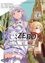 Re:Zero – 1e arc : une journée à la capitale, T2, manga chez Ototo de Matsuse, Nagatsuki