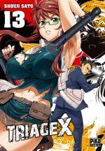 Triage X T13, manga chez Pika de Sato