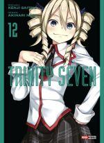 Trinity seven T12, manga chez Panini Comics de Nao, Saitô