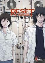 Reset, manga chez Ki-oon de Tsutsui