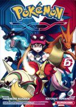 Pokémon XY T6, manga chez Kurokawa de Kusaka, Yamamoto
