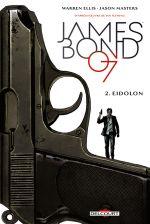 James Bond T2 : Eidolon (0), comics chez Delcourt de Ellis, Masters, Major, Reardon
