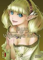 Tales of wedding rings T2, manga chez Kana de Maybe