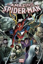 The Amazing Spider-Man T5 : Descente aux enfers (0), comics chez Panini Comics de Conway, Barberi, Silva, Adams