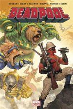 Deadpool (2013) : On n'est pas des bêtes (0), comics chez Panini Comics de Duggan, Giovannetti, Acker, Scheer, Blacker, Shaner, Espin, Kolins, Gandini, Nakayama