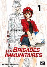 Les brigades immunitaires T1, manga chez Pika de Akane