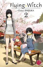 Flying witch  T2, manga chez Nobi Nobi! de Ishizuka