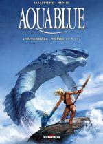 Aquablue T5 : Tomes 12 à 14 (0), bd chez Delcourt de Hautière, Reno
