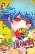 Love x dilemma T6, manga chez Delcourt Tonkam de Sasuga