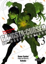 Gangsta Cursed Ep_Marco T3, manga chez Glénat de Kohske, Kamo