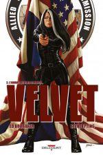 Velvet T3 : L'homme qui vola le monde... (0), comics chez Delcourt de Brubaker, Epting, Breitweiser