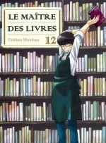 Le maître des livres T12, manga chez Komikku éditions de Shinohara