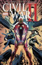 Civil War II Extra  T5, comics chez Panini Comics de Strain, Guggenheim, Cain, Takeda, Anindito, Sampson, Peralta, Rosenberg, Bellaire, Norton