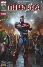 Marvel Saga T1 : Contest of Chamions - Les plus combatifs héros de la Terre (0), comics chez Panini Comics de Ewing, Marcellius, Medina, Curiel, Crossley