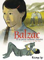 Balzac et la petite tailleuse chinoise, bd chez Futuropolis de Nadolny poustochkine