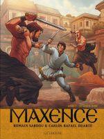 Maxence T3 : Le cygne noir (0), bd chez Le Lombard de Sardou, Duarte