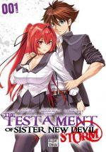The testament of sister new devil - Storm T1, manga chez Delcourt Tonkam de Tetsuto, Nitroplus