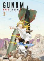 Gunnm Mars chronicle T3, manga chez Glénat de Kishiro