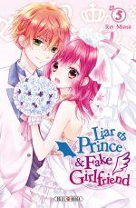 Liar prince & fake girlfriend  T5, manga chez Soleil de Miasa