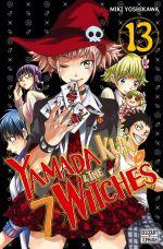 Yamada kun & the 7 witches T13, manga chez Delcourt Tonkam de Yoshikawa