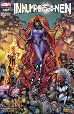 Inhumans vs X-Men T2, comics chez Panini Comics de Soule, Lemire, Garron, Yu, Ramos, Mossa, Alanguilan, Curiel, Adams, Cho