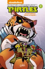 Teenage Mutant Ninja Turtles (Nickelodeon) T2 : Les mutanimaux contre-attaquent ! (0), comics chez Soleil de Dicicco, Manning, Rangel, Martin, Thomas, Breckel