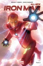 All-New Iron Man T1 : Reboot (0), comics chez Panini Comics de Bendis, Marquez, Ponsor