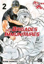 Les brigades immunitaires T2, manga chez Pika de Akane