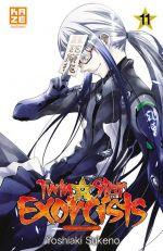 Twin star exorcists T11, manga chez Kazé manga de Sukeno